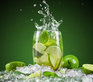 Обои на телефон холод, фрукты, напиток, крутые, hd, cold drink