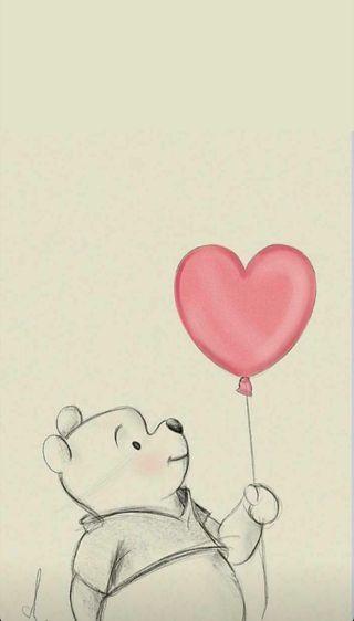 Обои на телефон happy, счастливые, медведь, шары, медведи, пух