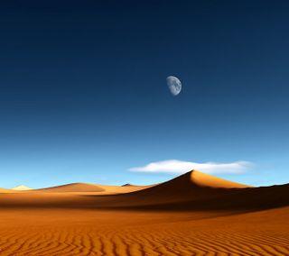 Обои на телефон пустыня, синие, приятные, природа, песок, небо, крутые, классные, вид