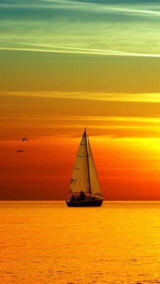 Обои на телефон настроение, лето, корабли