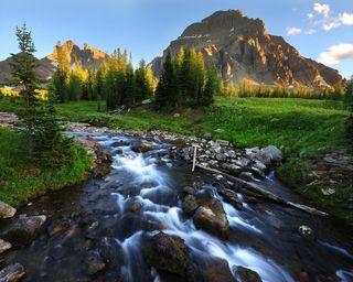 Обои на телефон река, приятные, природа, прекрасные, пейзаж, новый, камни, естественные