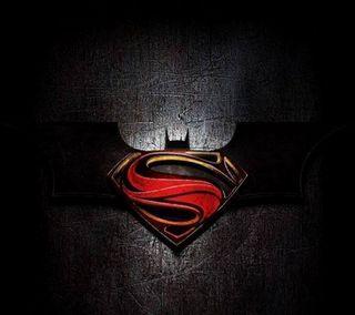 Обои на телефон летучая мышь, супермен, супер, логотипы, бэтмен