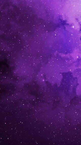 Обои на телефон фиолетовые, космос, звезды, галактика, galaxy