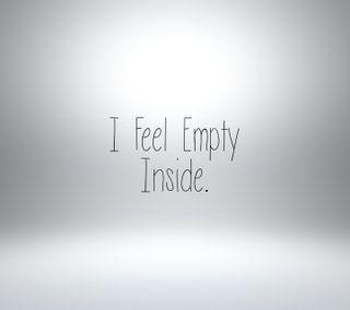 Обои на телефон чувствовать, сломанный, сердце, пустой, грустные, внутри, белые, i feel empty inside, break