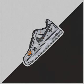 Обои на телефон черно белые, черные, найк, белые, sneaker, nikeair, nike sneaker by fuma, nike, airforce, air
