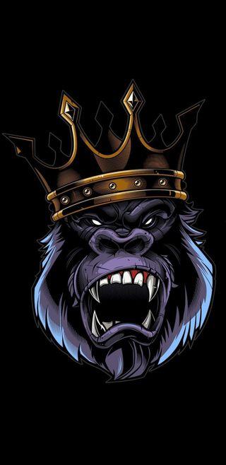 Обои на телефон фан, супер, король, горилла, swag, s8, s7, animaciones