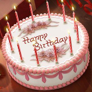 Обои на телефон пожелание, торт, счастливые, свеча, вечеринка