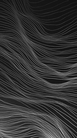 Обои на телефон мягкие, черные, темные, пейзаж, минимализм, линии, изгибы, арт, абстрактные, landscape lines, art, 3д, 3d
