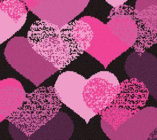 Обои на телефон день, счастливые, сердце, розовые, любовь, валентинка, абстрактные, love