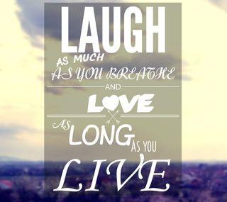 Обои на телефон смех, любовь, длинный, love, live, laugh and love