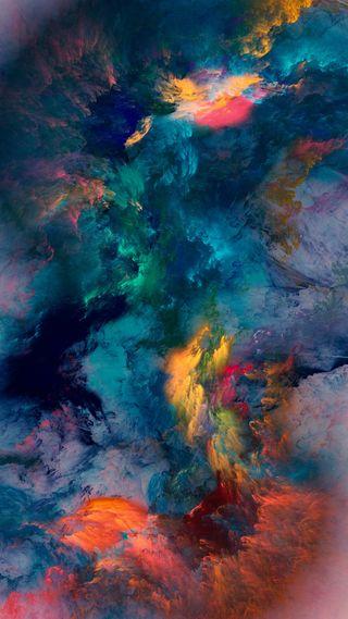 Обои на телефон шторм, шаблон, цветные, цвета, дизайн, арт, paintings, art