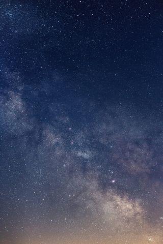 Обои на телефон космос, звезда
