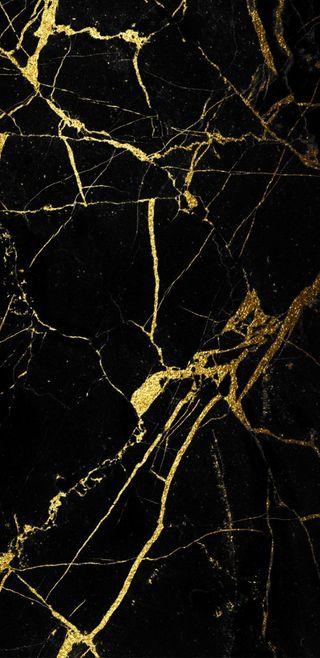 Обои на телефон мрамор, черные, золотые, black and gold
