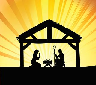 Обои на телефон христос, рождество, праздник, исус, nativity