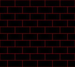 Обои на телефон кирпичи, черные, красые, абстрактные, redblack bricks