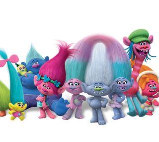 Обои на телефон анимация, синие, розовые, аква, trolls, justin timberlake, dreamworks