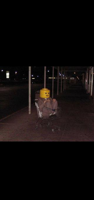 Обои на телефон мем, лего, данк, trolley