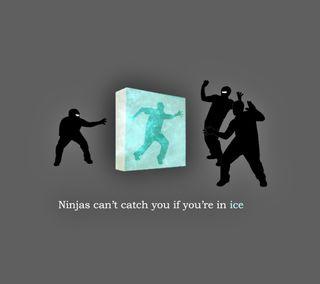 Обои на телефон ниндзя, лед, забавные, атака