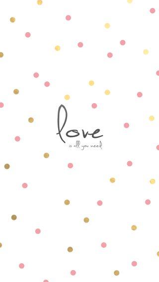 Обои на телефон точки, ты, розовые, прекрасные, любовь, девчачие, айфон, love is all you need, love, iphone