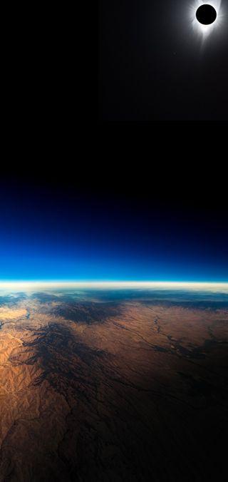 Обои на телефон солнечный, луна, космос, затмение, solar eclipse s10