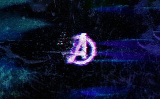 Обои на телефон сбой, финал, пыль, неоновые, мстители, логотипы, красые, векторные, арт, vector art, dust glitch, avengers dust red, avengers dust glitch, avengers dust, agd