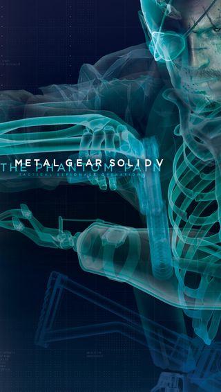 Обои на телефон механизм, металл, босс, боль, the phantom pain, mgsv, metal gear solid v, big boss