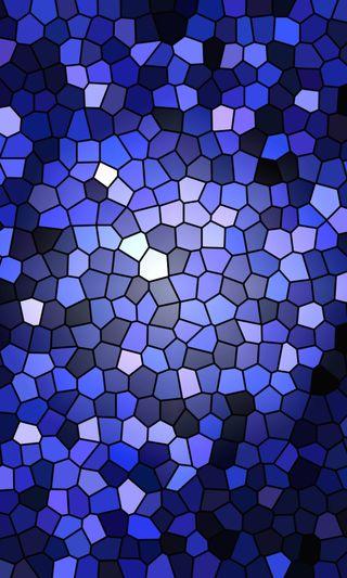 Обои на телефон мозаика, экран, стиль, синие, лучшие, дом, дизайн, арт, druffix, art