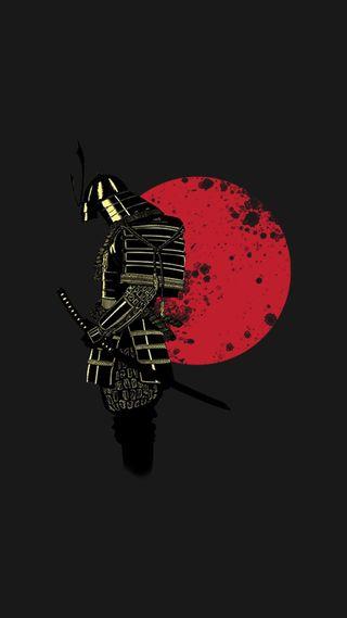 Обои на телефон самурай, японские, минимализм, меч, лучшие, крутые, арт, martial arts, bushido, 929