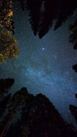 Обои на телефон космос, крутые, долина, астрономия, zedgespace, yosemite valley, hubble, hale, bopp