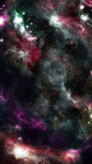 Обои на телефон туманность, планета, облака, ночь, небо, космос, звезды, звезда, галактика, galaxy