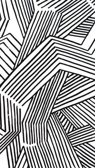 Обои на телефон сумасшедшие, черные, фан, рисунки, линии, белые, арт, zigzag, directions, bnw, art