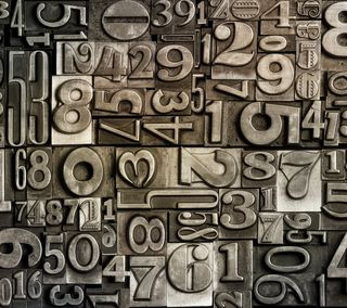 Обои на телефон числа, металлические, фон, металл, абстрактные, metallic numbers, etallic