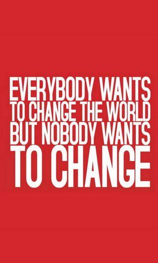 Обои на телефон менять, мир, want, everybody