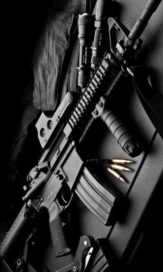Обои на телефон ammo, piston, refile, m4a1, оружие, военные