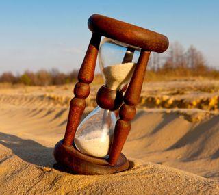 Обои на телефон настроение, фон, песок, hourglass