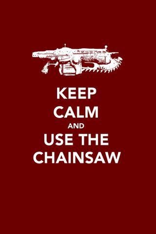Обои на телефон цитата, спокойствие, keep calm 5, chainsaw