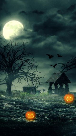 Обои на телефон тень, хэллоуин