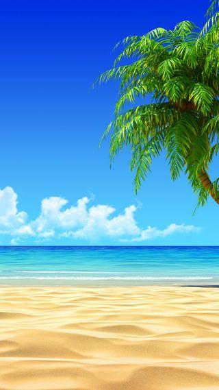 Обои на телефон пляж, море, hd, full