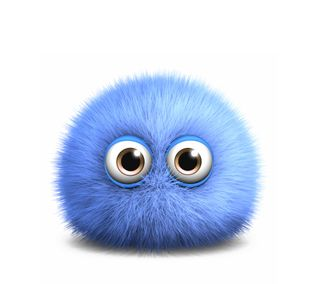 Обои на телефон фон, свет, мультфильмы, синие, милые, puffy, light blue, cartoon monster