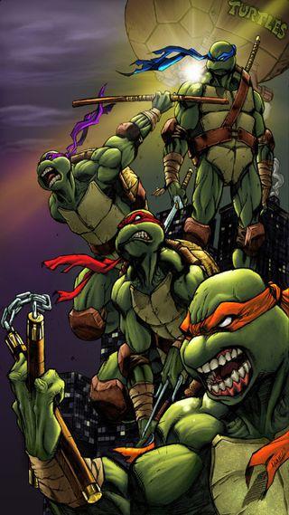 Обои на телефон черепашки ниндзя, черепахи, ниндзя, мутант, майк, лео, raph, don