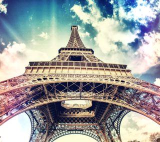 Обои на телефон великий, эйфелева башня, франция, прекрасные, пейзаж, париж, башня, eiffel tower hd