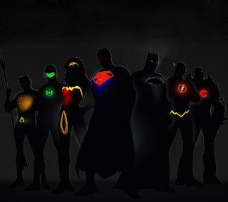 Обои на телефон af, зеленые, бэтмен, супермен, женщина, флэш, супергерои, чудо, фонарь, аквамен