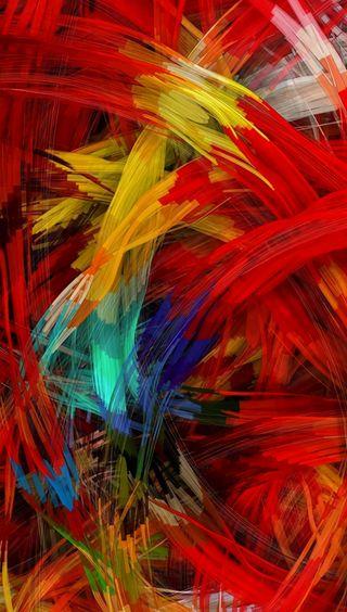 Обои на телефон рисунки, цветные, абстрактные