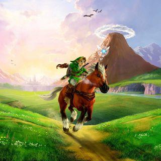 Обои на телефон окарина, нинтендо, лошадь, легенда, зельда, oot, nintendo, link