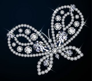 Обои на телефон бриллиант, светящиеся, бриллианты, бабочки, jewelry, diamond butterfly