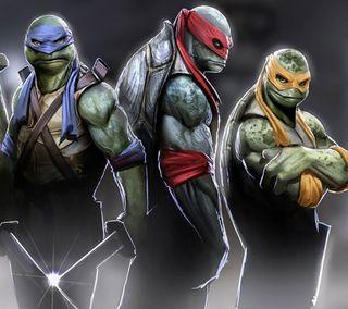 Обои на телефон черепахи, суперзвезды, актер, развлечения, ниндзя, голливуд, wwe, smackdown, ninja turtles 2014