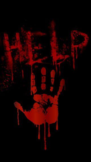 Обои на телефон кровь, я, хэллоуин, страшные, смерть, помощь, мертвый, красые, зомби, help me, handprint, bloody