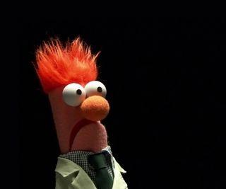 Обои на телефон мультики, muppet, beaker