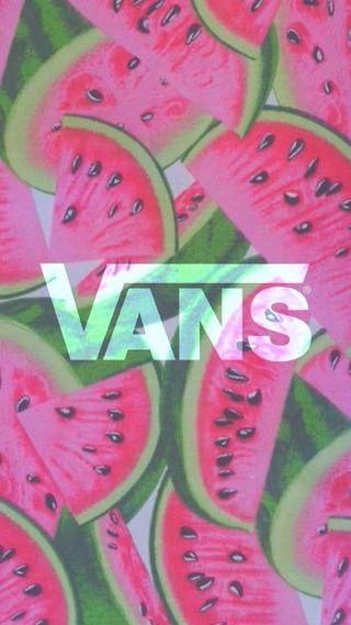 Обои на телефон логотипы, vans