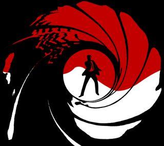 Обои на телефон оружие, джеймс, james bond 007, james bond, barrel, 007